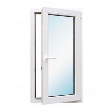 Окно одностворчатое металлопластиковое 500 мм х 1000 мм