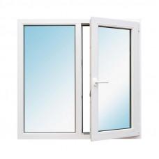 Окно двухстоворчатое металлопластковое 1500 мм х 1500 мм